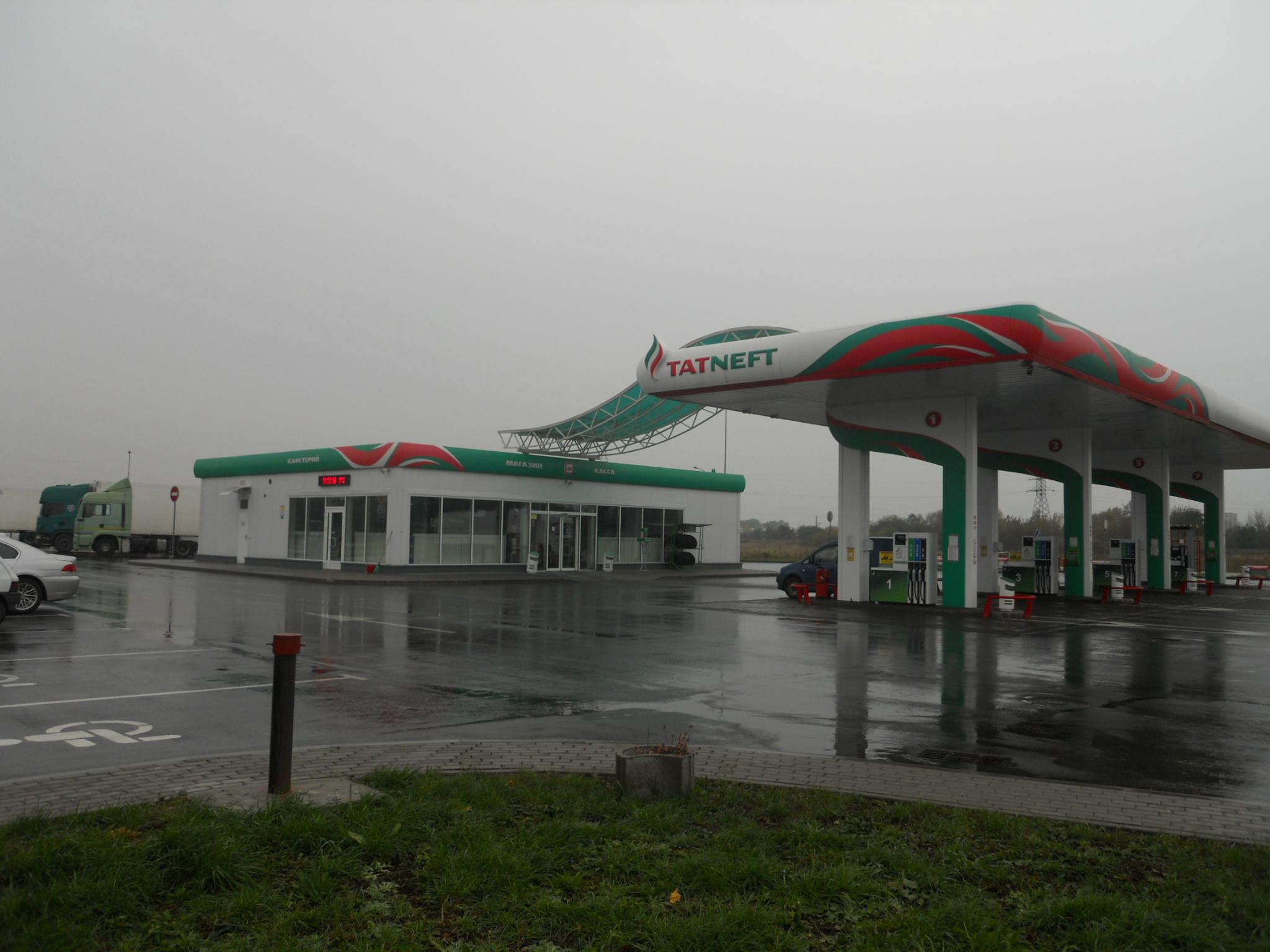 """АЗС """"Татнефть"""", ул. Радужная, Брест"""