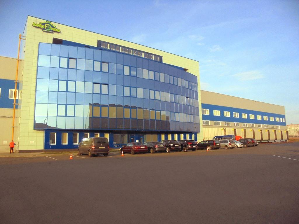 Торгово-логистический центр «БелРусИнвест» офисы из сэндвич-панелей ПромПанельСтрой