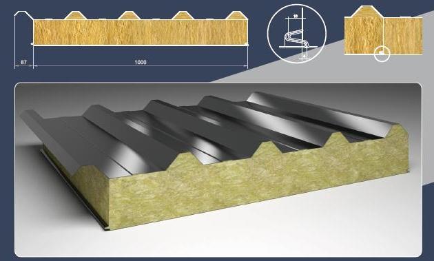 Изготовление и производство металлических сэндвич-панелей ООО ПромПанельСтрой